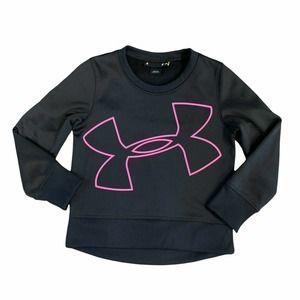 Under Armour Sweatshirt Crew Big Logo Athletic